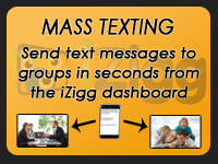click this link to watch how easy it is to send text messages to customers, employees, and associates with the iZigg Platform